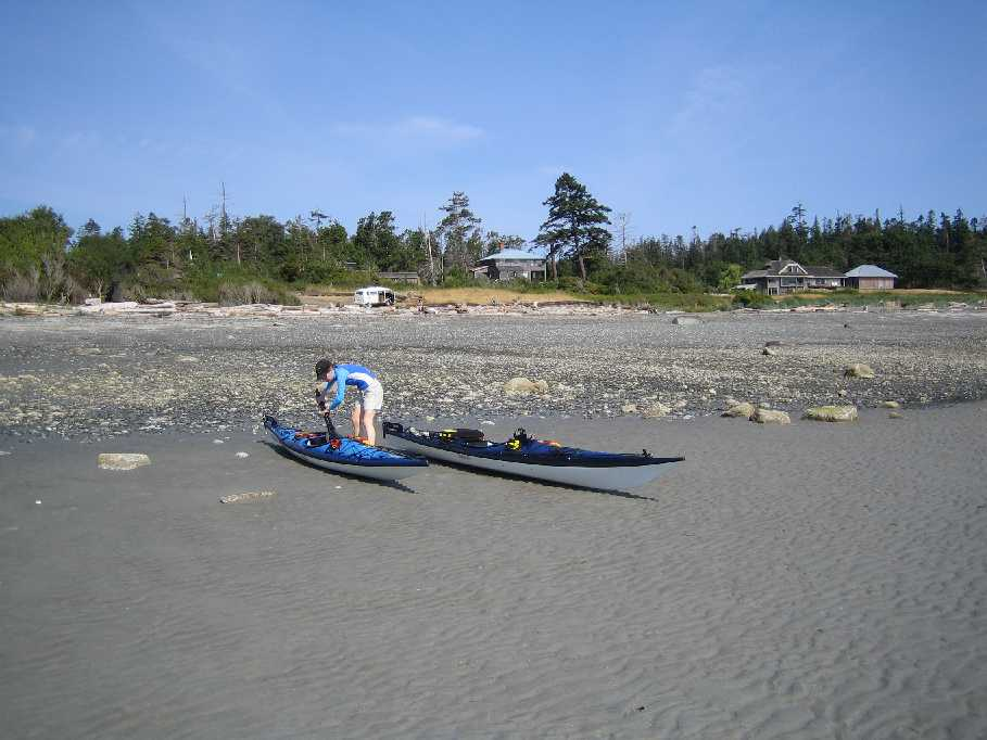 Kayaking at Little Tribune Bay